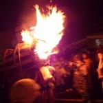 鞍馬の火祭 松明